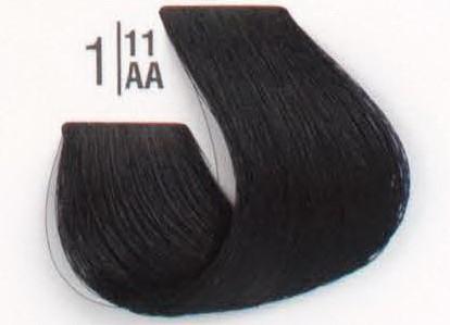 1/11 Сине-черный SPA Cream Color Профессиональный краситель для волос