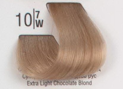 10/7W Сверхсветлый коричневый блонд SPA Cream Color Профессиональный краситель для волос
