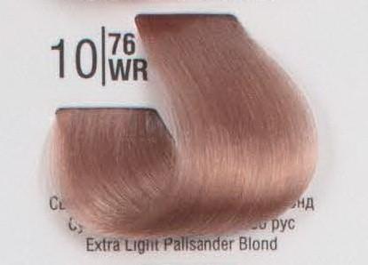 10/76WR Сверхсветлый палисандровый блонд SPA Cream Color Профессиональный краситель для волос