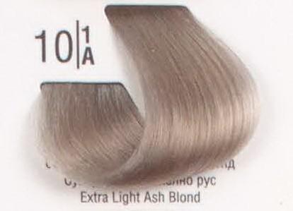 10/1A Сверхсветлый пепельный блонд SPA Cream Color Профессиональный краситель для волос