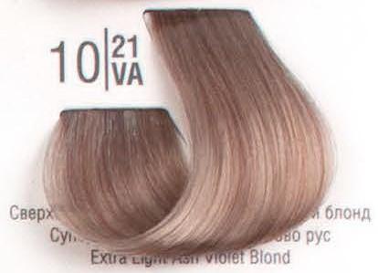 10/21VA Сверхсветлый холодный перламутровый блонд SPA Cream Color Профессиональный краситель для волос