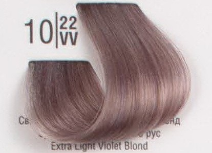 10/22VV Сверхсветлый перламутровый блонд SPA Cream Color Профессиональный краситель для волос
