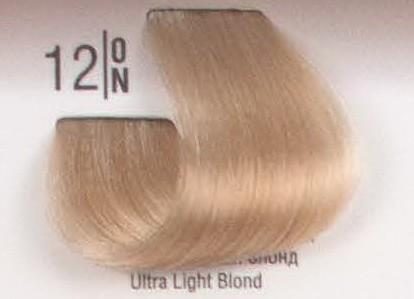 12/ON Специальный светлый блонд SPA Cream Color Профессиональный краситель для волос