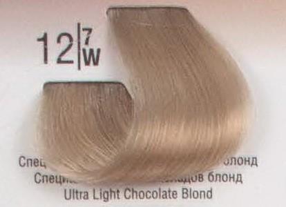 12/7W Специальный светлый коричневый блонд SPA Cream Color Профессиональный краситель для волос