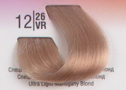 12/26VR Специальный светлый махагоновый блонд SPA Cream Color Профессиональный краситель для волос
