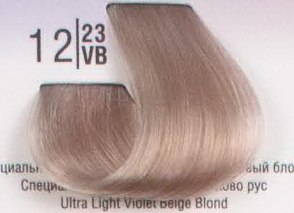 12/23VB Специальный светлый перламутровый бежевый блонд SPA Cream Color Профессиональный краситель для волос