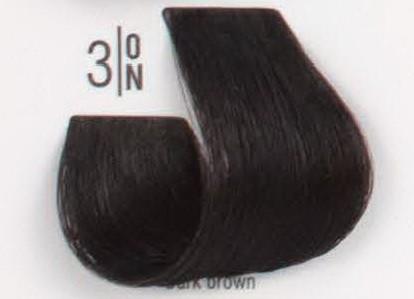 3/ON Темный шатен SPA Cream Color Профессиональный краситель для волос