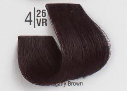 4/26VR Махагоновый шатен SPA Cream Color Профессиональный краситель для волос