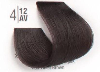 4/12AV Холодный перламутровый шатен SPA Cream Color Профессиональный краситель для волос