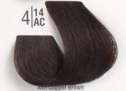 4/14АС Холодный шоколадный шатен SPA Cream Color Профессиональный краситель для волос