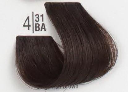 4/31BA Холодный бежевый шатен SPA Cream Color Профессиональный краситель для волос