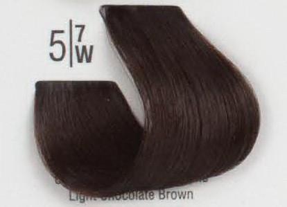 5/7W Светлый коричневый шатен SPA Cream Color Профессиональный краситель для волос