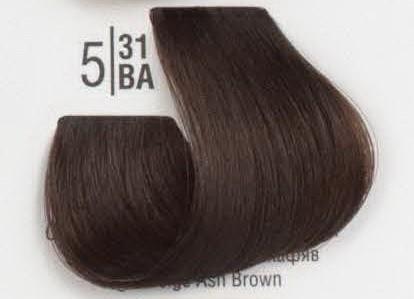 5/31BA Светлый холодный бежевый шатен SPA Cream Color Профессиональный краситель для волос
