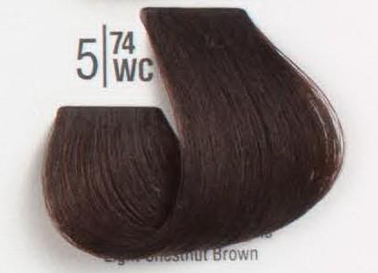 5/74WC Светлый каштановый шатен SPA Cream Color Профессиональный краситель для волос