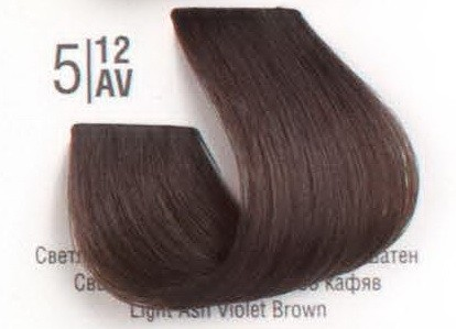 5/12AV Светлый холодный перламутровый шатен SPA Cream Color Профессиональный краситель для волос