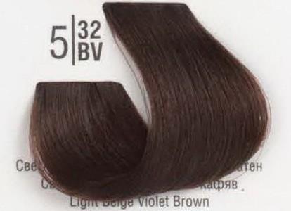 5/32BV Светлый бежевый перламутровый шатен SPA Cream Color Профессиональный краситель для волос