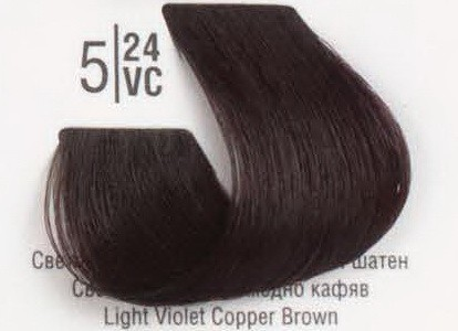 5/24VC Светлый перламутровый медный шатен SPA Cream Color Профессиональный краситель для волос