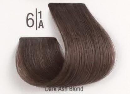 6/1A Темный пепельный блонд SPA Cream Color Профессиональный краситель для волос