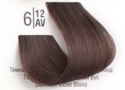 6/12AV Темный холодный перламутровый блонд SPA Cream Color Профессиональный краситель для волос