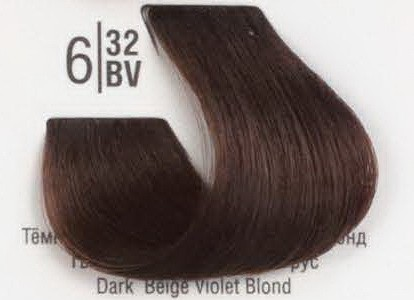 6/32BV Темный бежевый перламутровый блонд SPA Cream Color Профессиональный краситель для волос