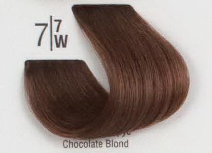 7/7W Коричневый блонд SPA Cream Color Профессиональный краситель для волос