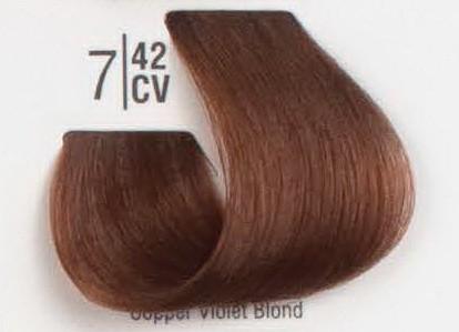 7/42CV Медный перламутровый блонд SPA Cream Color Профессиональный краситель для волос