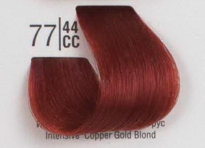 77/44CC Интенсивный медный блонд SPA Cream Color Профессиональный краситель для волос
