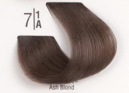 7/1A Пепельный блонд SPA Cream Color Профессиональный краситель для волос