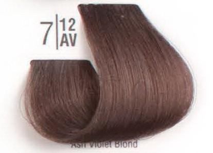 7/12AV Холодный перламутровый блонд SPA Cream Color Профессиональный краситель для волос