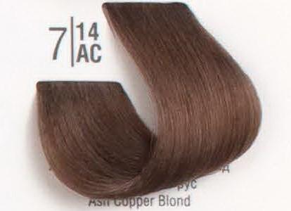 7/14АС Холодный шоколадный блонд SPA Cream Color Профессиональный краситель для волос