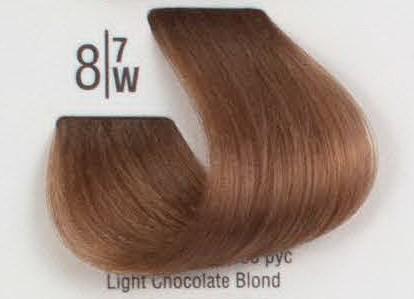 8/7W Светлый коричневый блонд SPA Cream Color Профессиональный краситель для волос