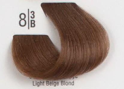 8/3B Светлый бежевый блонд SPA Cream Color Профессиональный краситель для волос
