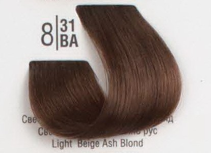 8/31BA Светлый холодный бежевый блонд SPA Cream Color Профессиональный краситель для волос