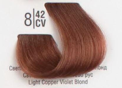 8/42CV Светлый медный перламутровый блонд SPA Cream Color Профессиональный краситель для волос