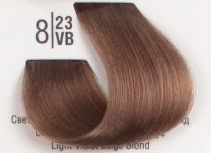 8/23VB Светлый перламутровый бежевый блонд SPA Cream Color Профессиональный краситель для волос
