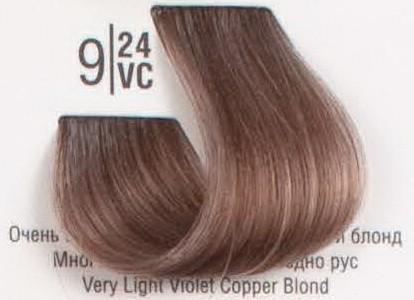 9/24VC Очень светлый перламутровый медный блонд SPA Cream Color Профессиональный краситель для волос