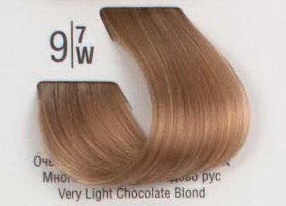 9/7W Очень светлый коричневый блонд SPA Cream Color Профессиональный краситель для волос