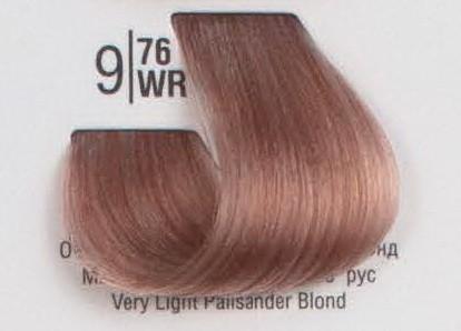 9/76WR Очень светлый палисандровый блонд SPA Cream Color Профессиональный краситель для волос
