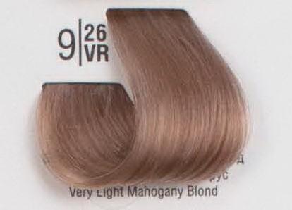 9/26VR Очень светлый махагоновый блонд SPA Cream Color Профессиональный краситель для волос