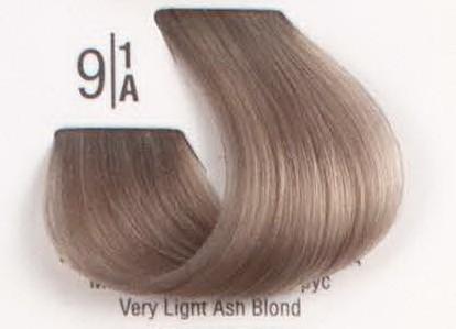 9/1A Очень светлый пепельный блонд SPA Cream Color Профессиональный краситель для волос