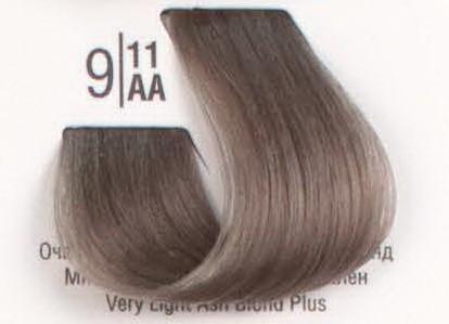 9/11AA Очень светлый очень пепельный блонд SPA Cream Color Профессиональный краситель для волос