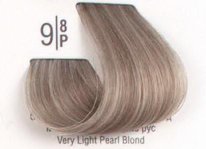 9/8P Очень светлый жемчужный блонд SPA Cream Color Профессиональный краситель для волос