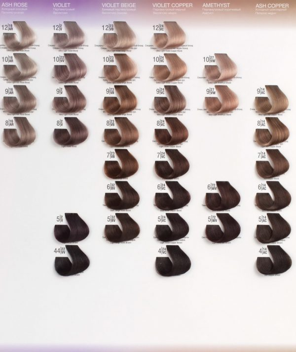 4/71WА Холодный коричневый шатен SPA Cream Color Профессиональный краситель для волос