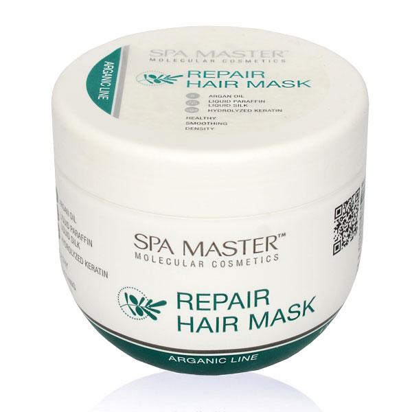 Восстанавливающая аргановая маска для волос (500мл) Spa Master Professional