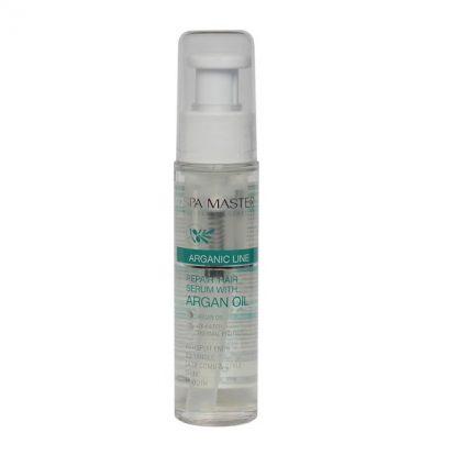 Восстанавливающая сыворотка для волос с маслом арганы (50мл) Spa Master Professional