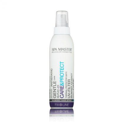 Черничный спрей для защиты волос (200мл) Spa Master Professional