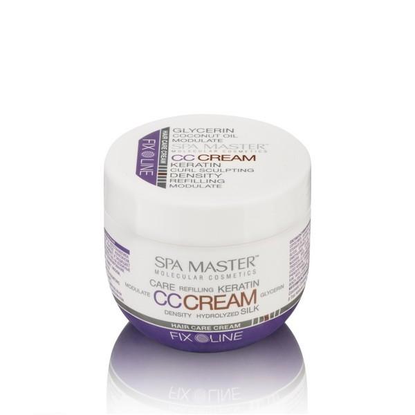 Уплотняющий крем для волос с кератином и кокосовым маслом SM 126 (100мл) Spa Master Professional