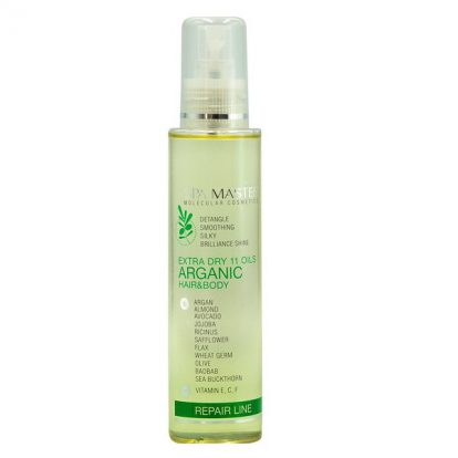 Аргановая сыворотка для восстановления волос и кожи 11 масел(135мл) Spa Master Professional