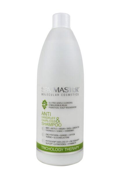 Безсульфатный шампунь против перхоти и выпадения волос (970мл) SM 197 Spa Master Professional